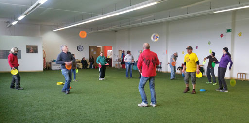 Dogfrisbee-Seminar: Frisbeetricks
