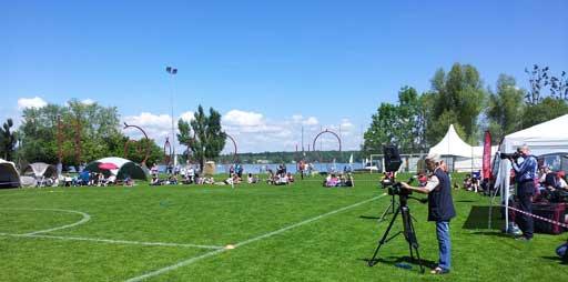 Hundefrisbee-Turnier, Bodensee Arena Kreuzlingen
