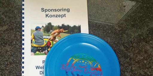 Frisbee und Sponsoring anfrage