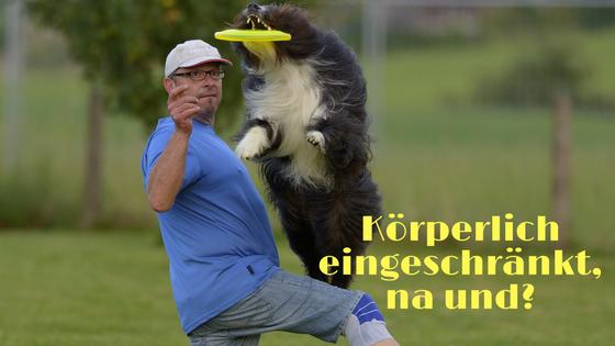körperliche Einschränkungen im Hundefrisbee