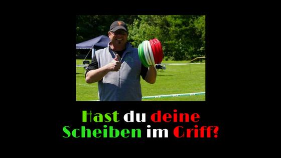 Frisbee handling